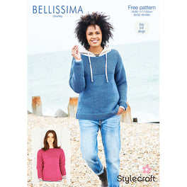 Free Pattern - Garter Stitch Jumper in Stylecraft Bellissima Chunky