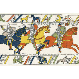 Bayeux Tapestry: The Cavalry