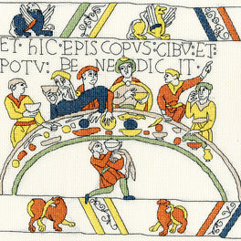 Bayeux Tapestry: The Bishops Feast