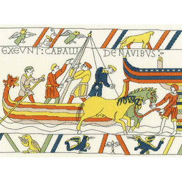 Bayeux Tapestry: The Normans Landing