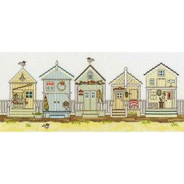 New England: Beach Huts