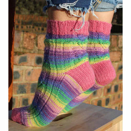 Adeline Socks Yarn Box in WYS Signature 4ply - Wildflower - by Winwick Mum