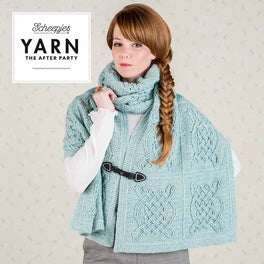 Yarn The After Party 25 Celtic Tiles Wrap by Tatsiana Kupryianchyk