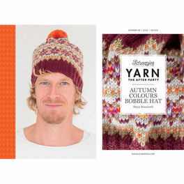 Yarn The After Party 36 Autumn Colours Bobble Hat by Maya Bosworth