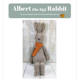 Albert the Rabbit in Sirdar Harrap Tweed Chunky - Sue Jobson