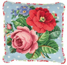 Berlin Roses Cushion Front Kit