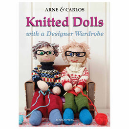 Knitted Dolls with a Designer Wardrobe - by Arne & Carlos