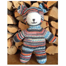 Free Pattern - Teddy by Arne & Carlos in Regia Design Line 4ply