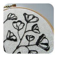 Botanical Embroidery Afternoon Workshop with Rebecca Stevens - Saturday 1st February 2020
