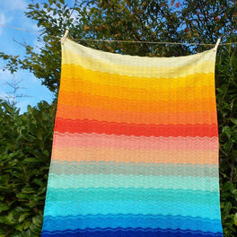 Into the Sunset Blanket - in Scheepjes Catona