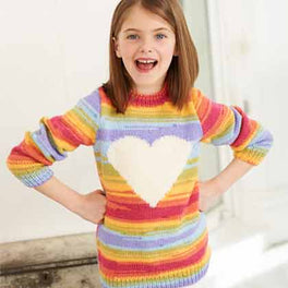 Childrens Sweater and Hoodie in Merry Go Round DK and Special DK