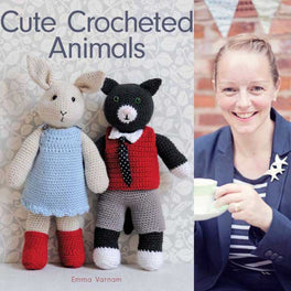 Cute Crocheted Animals by Emma Varnam