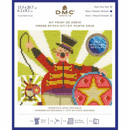 Ringmaster Reginald - DMC Counted Cross Stitch