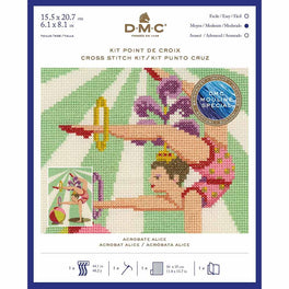 Acrobat Alice - DMC Counted Cross Stitch