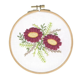 Wild Dhalias Embroidery Kit