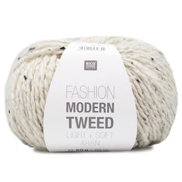 Rico Fashion Modern Tweed Light and Soft Aran