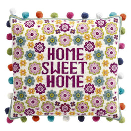 Flower Home Sweet Home Tapestry