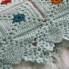 Forget Me Not Dots Blanket Colour Pack by Cherry Heart - Stylecraft Special DK