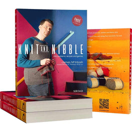 Knit and Nibble: lifes patterns, recipes and games by James McIntosh