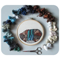 Embroidery Landscapes Morning Workshop with Rebecca Stevens - Saturday 1st February 2020