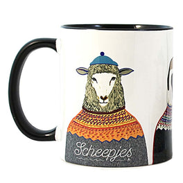 Scheepjes Limited Edition Illustrated Mug - by Ashley Percival