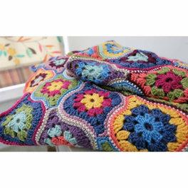 Mystical Lanterns Blanket Crochet Pattern and Stylecraft Life DK Colour Pack