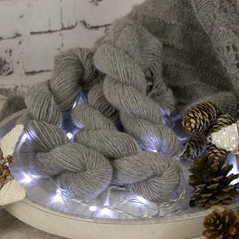 Betwixtmas Shawl 2019 - Platinum - by Carol Meldrum