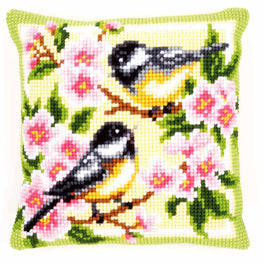 Birds and Blossoms Cushion Front Kit