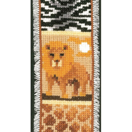 Safari Lions Bookmark