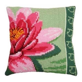 Pink Lotus Flower Cushion Front Kit