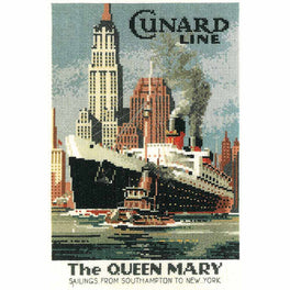 Cunard Line - The Queen Mary