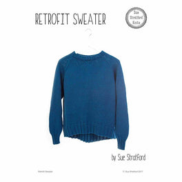 Retrofit Sweater by Sue Stratford - Digital Pattern
