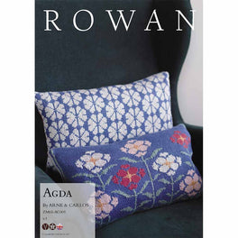 Agda Cushion by Arne & Carlos in Rowan Softyak DK  - Digital Version