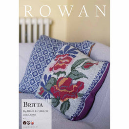 Britta Cushion by Arne & Carlos in Rowan Softyak DK  - Digital Version