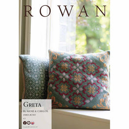Greta Cushion by Arne & Carlos in Rowan Softyak DK  - Digital Version