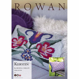 Kerstin Cushion by Arne & Carlos in Rowan Softyak DK  - Digital Version