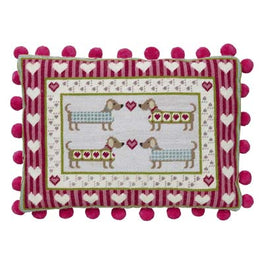 Sausage Dog Tapestry