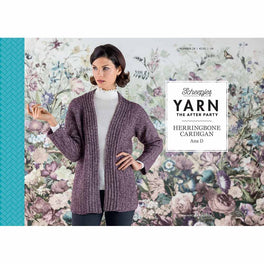 Yarn The After Party 29 Herringbone Cardigan by Ana D