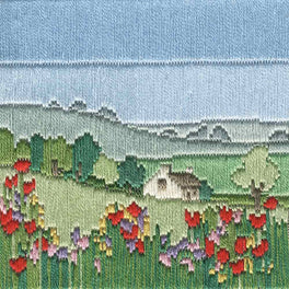 Meadow Silken Longstitch Kit