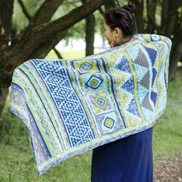 Scheepjes Spirits of Life CAL - Spirit of the Lake wrap