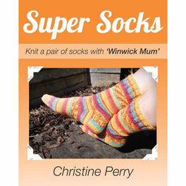 Super Socks - Knit a pair of socks with 'Winwick Mum'