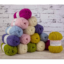 Nature's Walk CAL Colour Pack - Stylecraft Bellissima and Bambino - Sweet Meadow