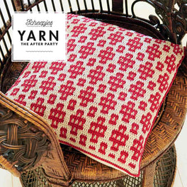 Yarn The After Party 45 Swifts Cushion by Esme Crick