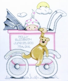 Girl Baby Buggy Sampler