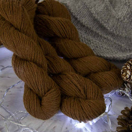 Betwixtmas Shawl 2019 - Toffee - by Carol Meldrum