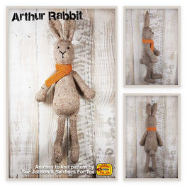 Arthur the Rabbit in Sirdar Harrap Tweed DK - Sue Jobson