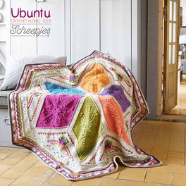 Scheepjes CAL 2018 - Ubuntu Colour Pack in Scheepjes Stone Washed XL & River Washed XL - Large