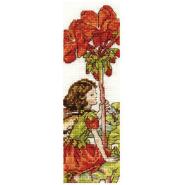The Geranium Fairy Bookmark