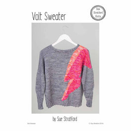 Volt Sweater by Sue Stratford - Digital Pattern