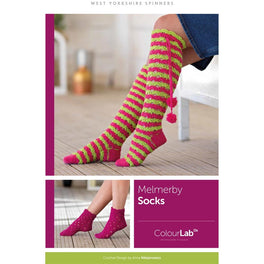 Melmerby Knee High & Ankle Socks in West Yorkshire Spinners ColourLab - Digital Version